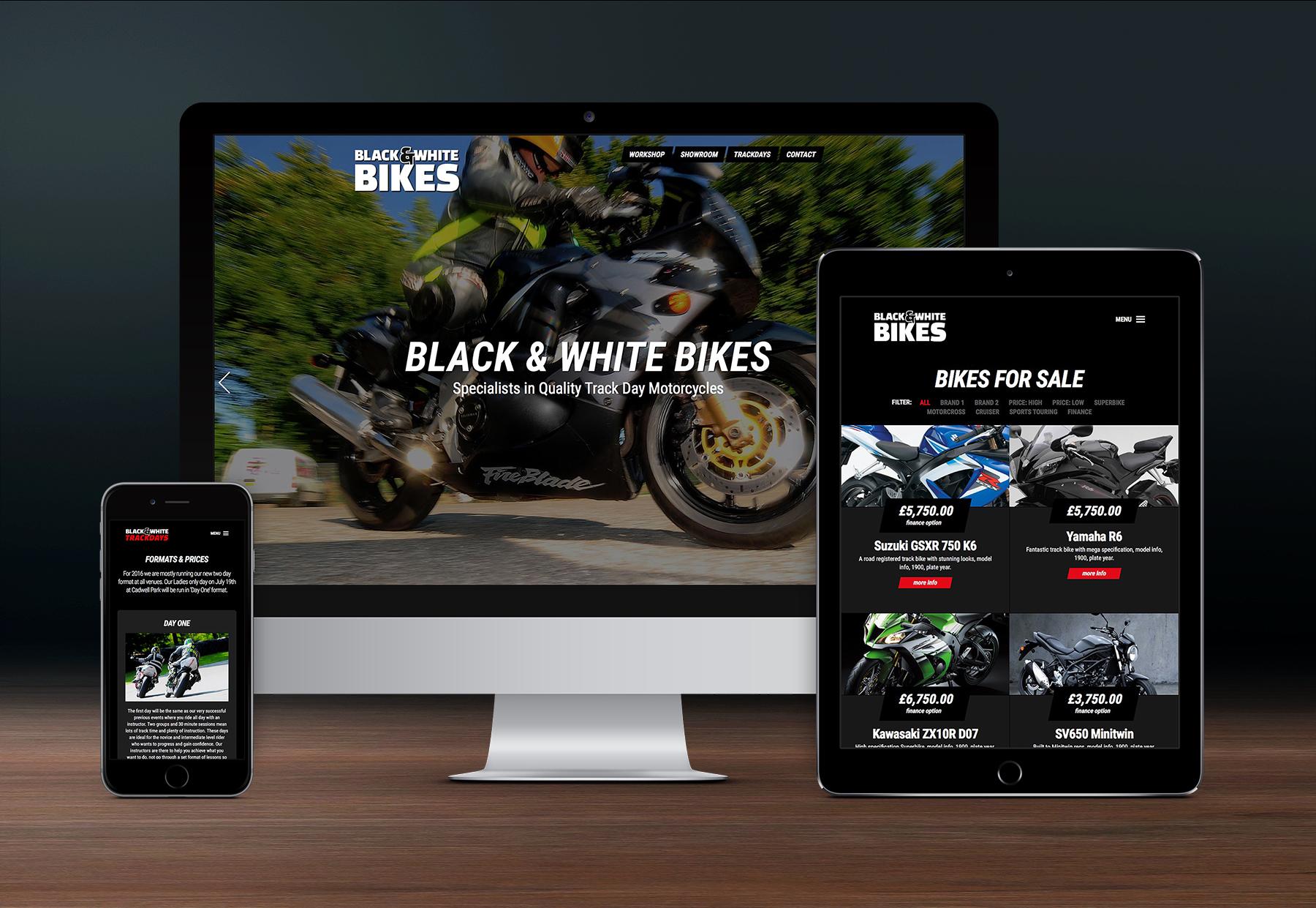Black & White Bikes